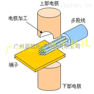多股导线焊接点焊机原理图