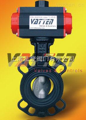 VT1ADW11AHM-氣動對夾蝶閥生產廠家