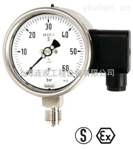 Labom-Labom德国不锈钢弹簧管机械压力表