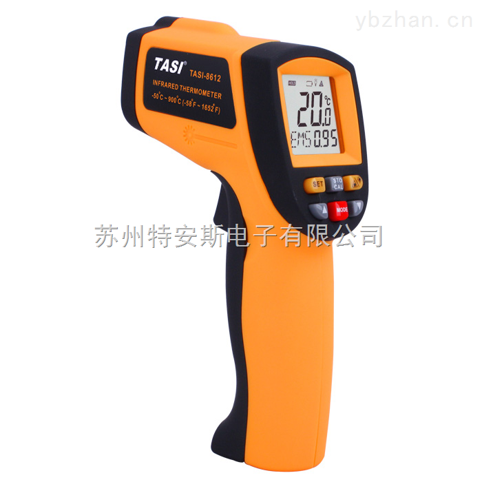 特安斯TASI-8612红外线测温仪Infrared Thermometer -50~900℃