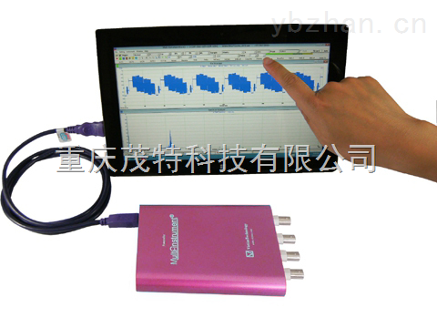 200M 高精度宽量程虚拟示波器 200MSPS采样率信号发生器VT DSO-2820E