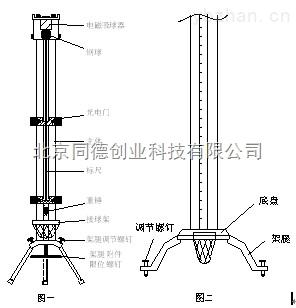 自由落體重力加速度測量儀/重力加速度測量儀