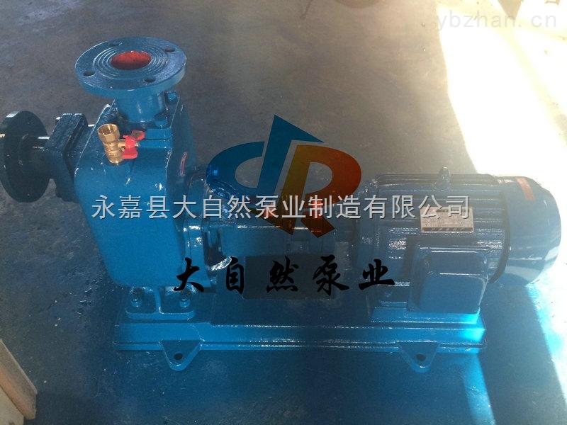 供应50ZX12.5-50清水自吸泵