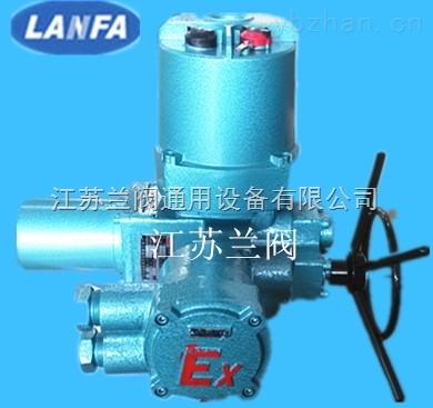 体调节型阀门电动装置