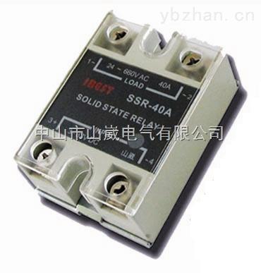 SSR-40AA-40A交流AC控制交流固态继电器单相SSR-40AA 山崴