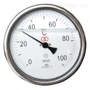 耐震軸向型雙金屬溫度計