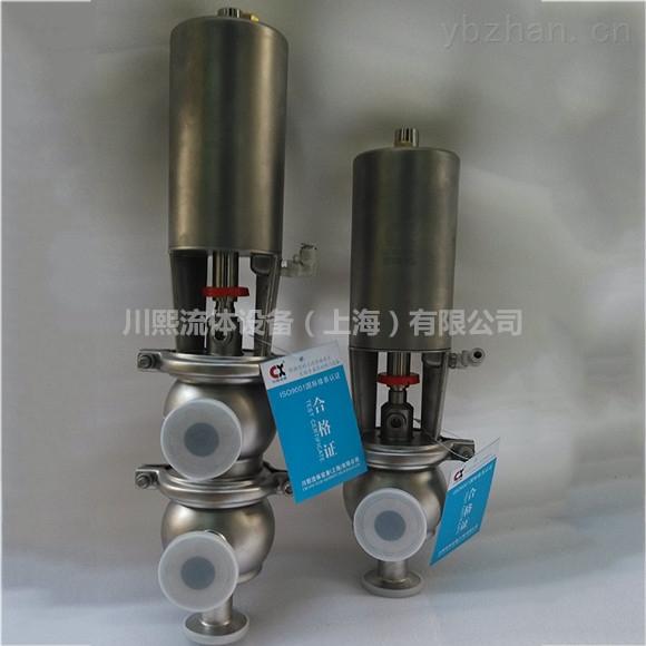 卫生级不锈钢气动换向阀应用领域
