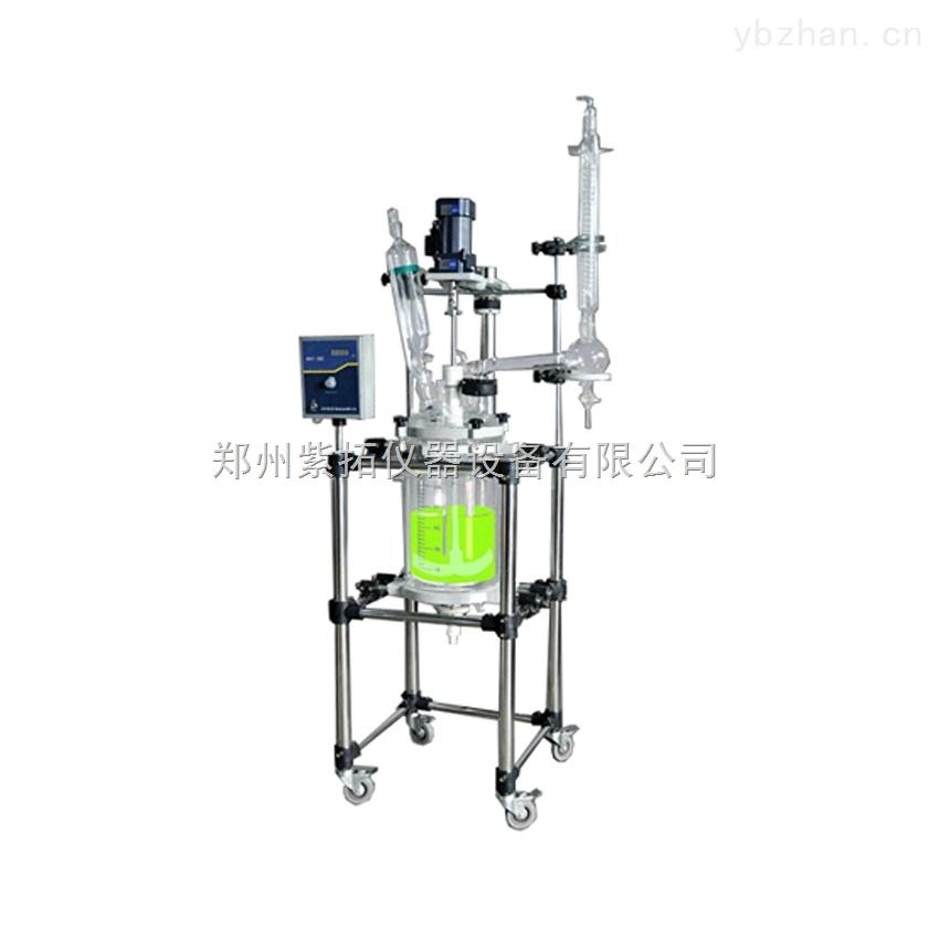 厂家直销双层玻璃反应釜ZTS-10L