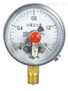磁固电接点压力表
