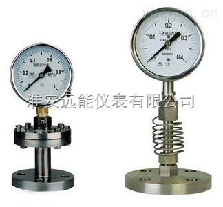 YTPF-150MG工字型隔膜压力表