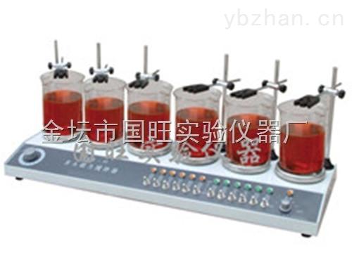 HJ-6,HJ-6A-多頭磁力加熱攪拌器廠家直銷