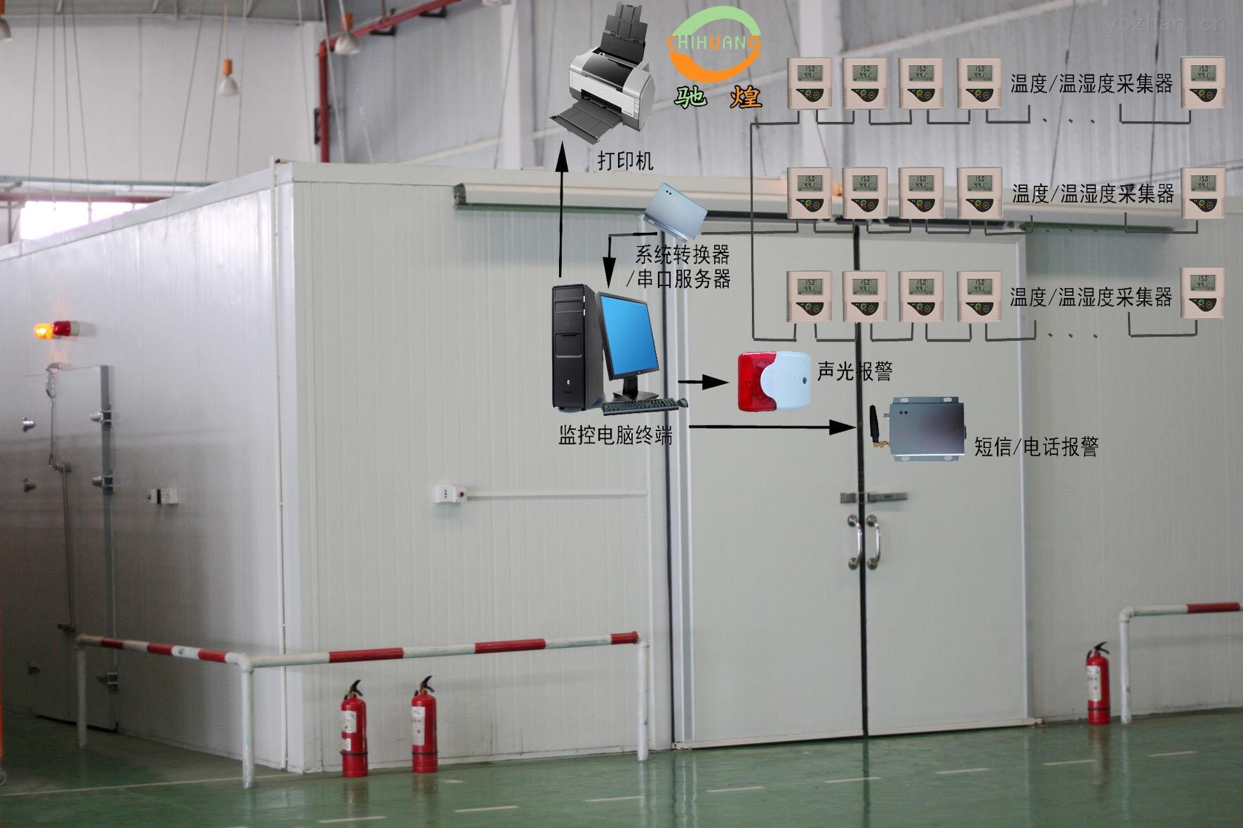 温湿度监控系统(冰箱温度集中监控)