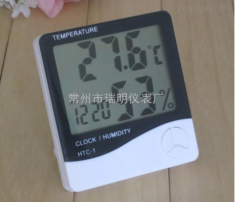 HTC-1大屏幕數字溫濕度計顯示