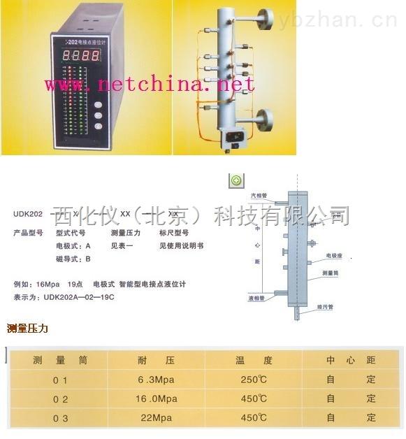 智能型電接點液位顯示控制儀/電接點水位計