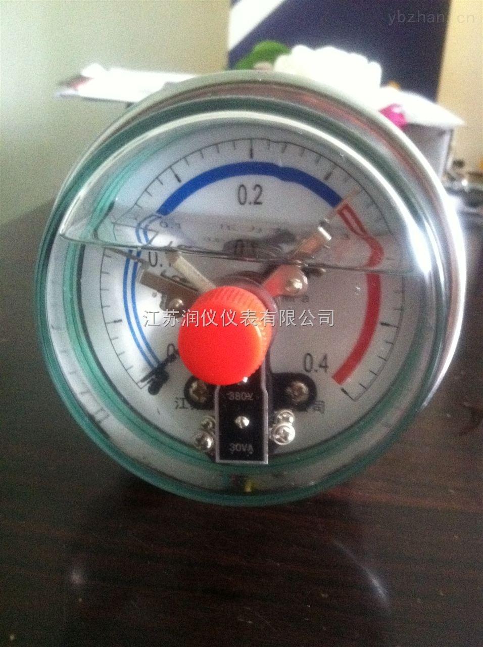 電接點耐震不銹鋼壓力表