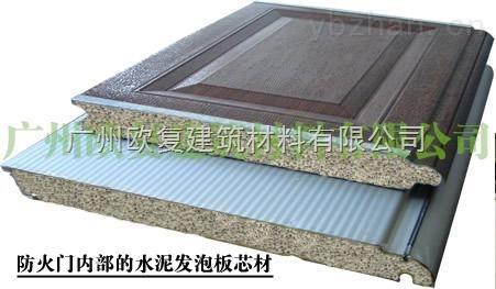 无机防火门芯板生产设备