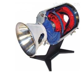 涡轮喷气发动机剖割体