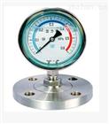 不锈钢隔膜耐震法兰压力表