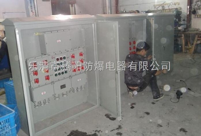 三相电配电柜复位按钮开关接线图