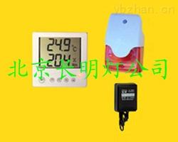 鸣笛闪光型机房温湿度报警器YFWSB-MS