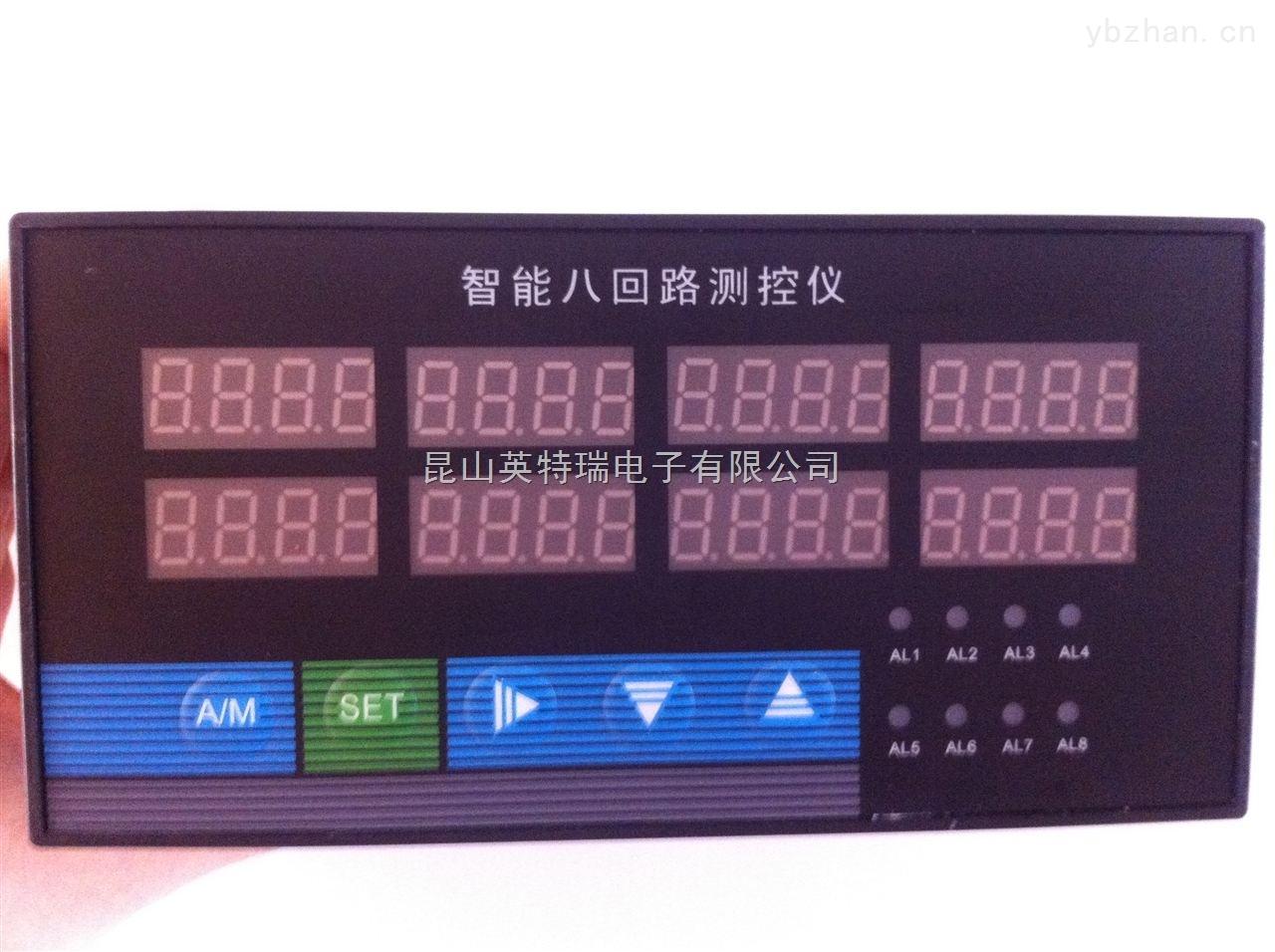 一、智能温度数字显示控制仪主要技术参数 输入信号 电阻各种规格热电阻(见规格篇),如Pt100、Cu100、 Cu50等或远传压力电阻 电偶各种规格热电偶(见规格篇),如B、S、K、E、J、 T、WRe等 电压0~5V、1~5V或mV等 电流0~10mA、4~20mA或0~20mA等 测量范围 -1999~9999字 测量精度 0.