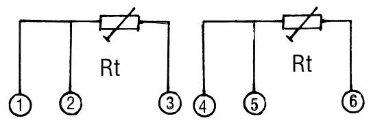 工业用热电阻分铂热电阻和铜热电阻两大类。   热电阻是利用物质在温度变化时自身电阻也随着发生变化的特性来测量温度的。热电阻的受热部分(感温元件)是用细金属丝均匀地绕在绝缘材料制成的骨架上。当被测介质中有温度梯度存在时,所测得的温度是感温元件所在范围内介质层中的平均温度。