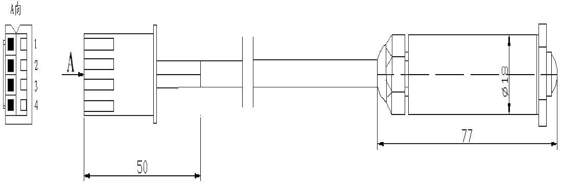 电源暗线线路探测器电路图