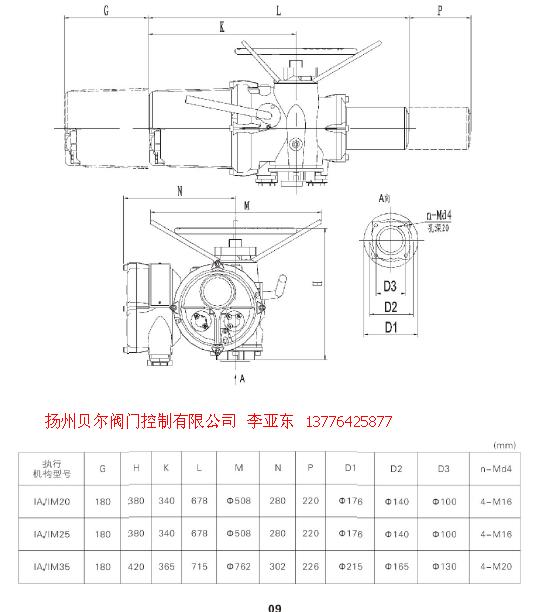 rotork iq系列电动执行机构