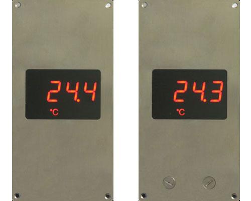 嵌入式多功能温度/湿度/差压显示屏