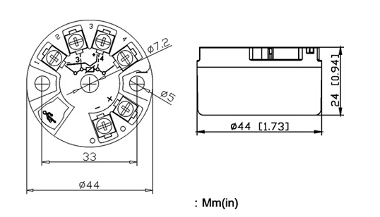 国产248二线制智能温度变送器可以替代进口罗斯蒙特248温度变送器