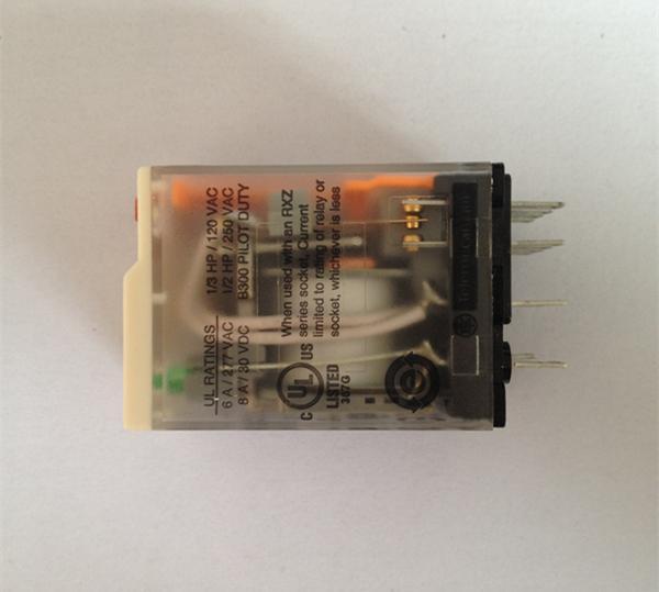 施耐德rxm2ab2p7小型继电器(12a/ac230v)