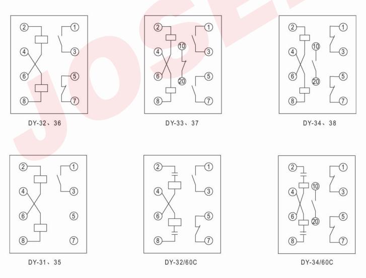 dy-36: dy-36电磁式过电压继电器