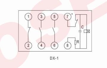dx-1型闪光继电器