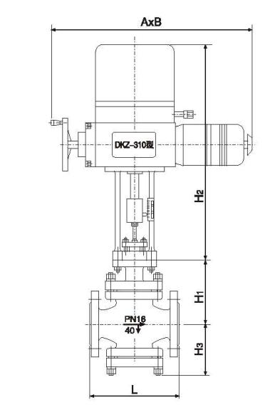jdzazp-dn50 zazp电动单座调节阀